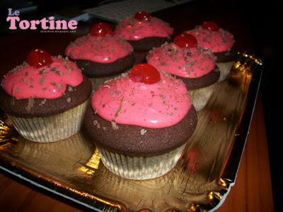 Hot Choco Cupcakes