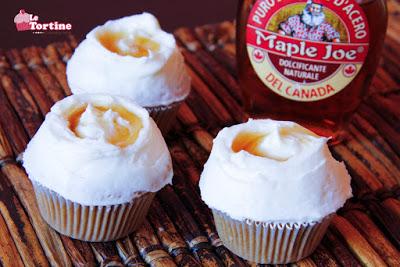Cupcakes allo sciroppo d'acero