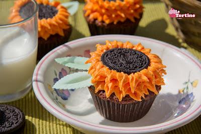 Cupcakes Girasole