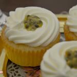 Cupcakes champagne e maracuja (passion fruit)
