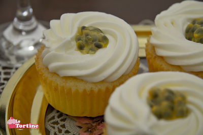 Cupcakes champagne e maracuja (passion fruit)