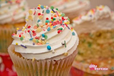 Carnevale 2013: Funfetti Cupcakes