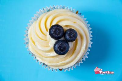 Cupcakes Limone e Mirtilli