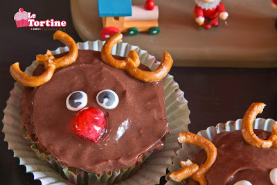 Natale 2013: Rudolph Cupcakes