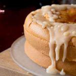 Chiffon Cake glassata all'arancia amara