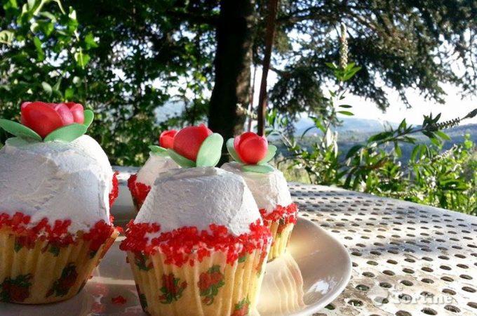 Festa della Mamma 2014: Cupcakes alla rosa canina