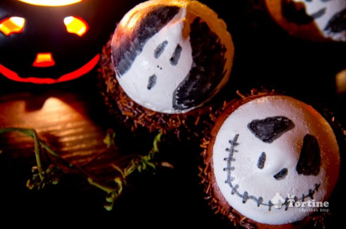 Halloween: Cupcakes ciocco-meringa