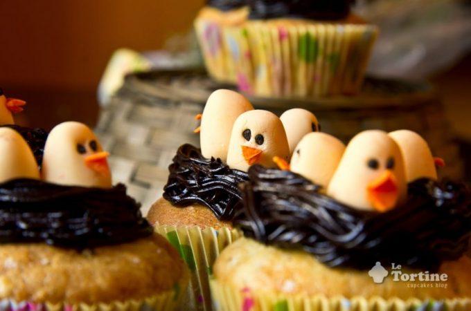 Cupcakes pulcini di Pasqua