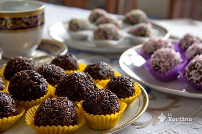 Tartufini al cacao e fagioli azuki