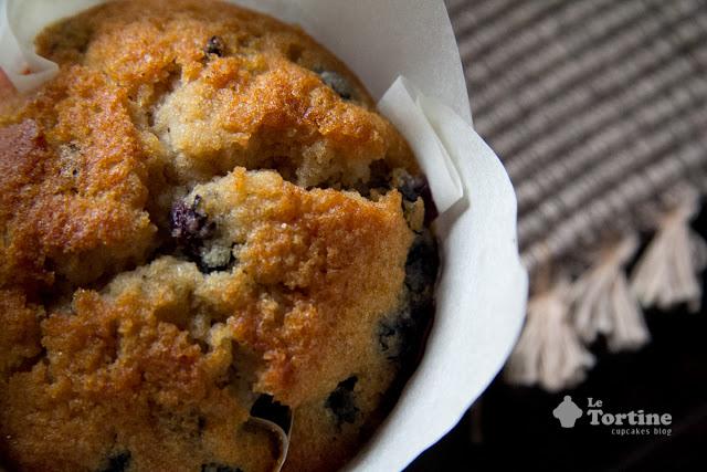 Muffin gluten free ai mirtilli e sciroppo d'acero