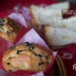 Muffin al mango e passion fruit