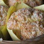 Muffin al cocco e limone