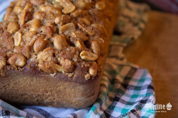 Cake alle arachidi pralinate