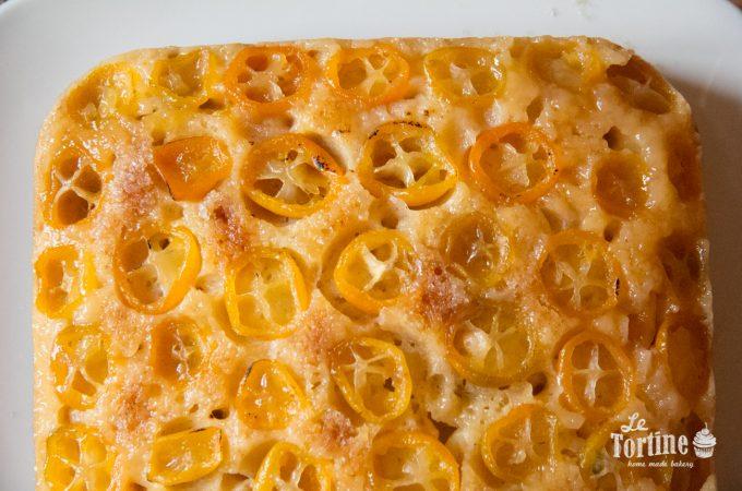 Torta rovesciata al kumquat