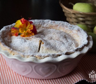 Pear pie al cardamomo