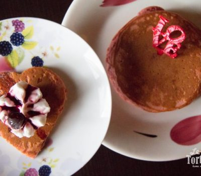 Pancakes per San Valentino