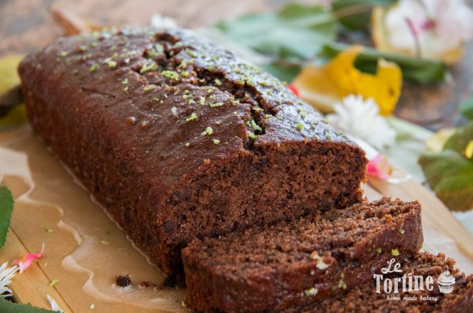 Plumcake al doppio cioccolato e bergamotto