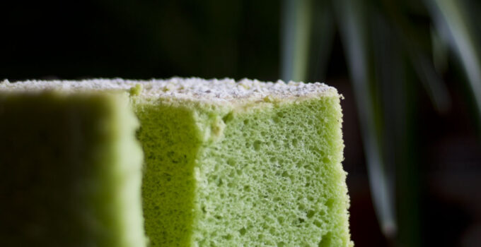 Chiffon Cake al Pandan